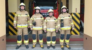 Nowe ubrania dla strażaków