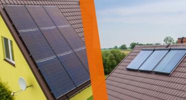 Panele słoneczne czy kolektory, co wybrać?