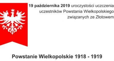Uroczystości upamiętnienia uczestników Powstania Wielkopolskiego w Złotowie