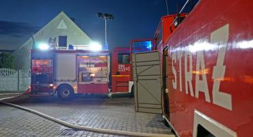 Pożar poddasza w budynku mieszkalnym w Izdebkach[WIDEO]