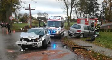 Wypadek w Głubczynie
