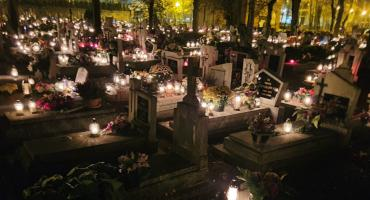 Święto Zmarłych na złotowskich cmentarzach