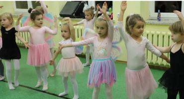 Baletnice zatańczyły dla swoich rodziców