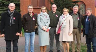 Delegacja z partnerskiej gminy w Jastrowiu