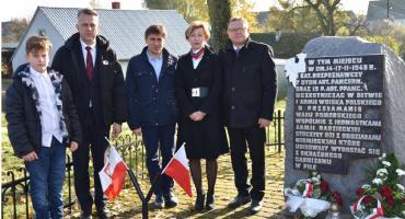 Uroczystości 101. rocznicy odzyskania Niepodległości w Tarnówce
