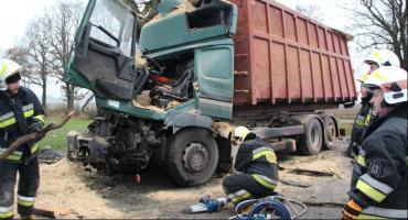 Wypadek na trasie Lipka - Łąkie