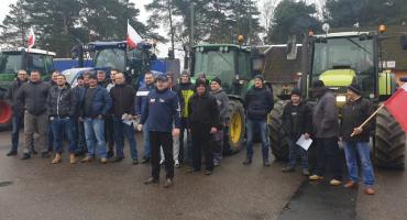 Rolnicy protestują w Podgajach
