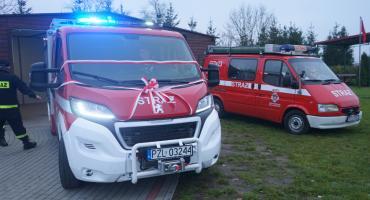 Oficjalne przekazanie auta dla OSP w Śmiardowie Krajeńskim[WIDEO]