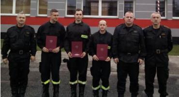 Złotów - zakończenie szkolenia w zawodzie strażak