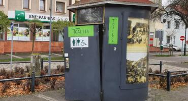 Toaleta na Placu Paderewskiego - nieczynna