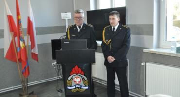 Strażacy pożegnali się ze służbą
