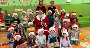 Święty Mikołaj w Przedszkolu nr 3 w Złotowie