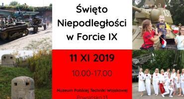 Święto Niepodległości 2019 w Forcie IX na Sadybie