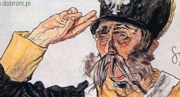 Sposób salutowania dwoma palcami a całą dłonią