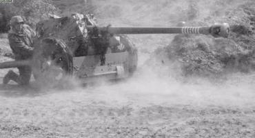 Armata przeciwpancerna PAK 40 - konserwacja belki celownika