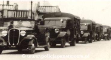 Fiat 621 R w Policji Państwowej