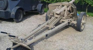 Armata przeciwpancerna PAK 40 po renowacji