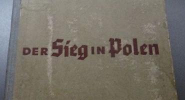 Książka Der Sieg in Polen - materiał propagandowy III Rzeszy.