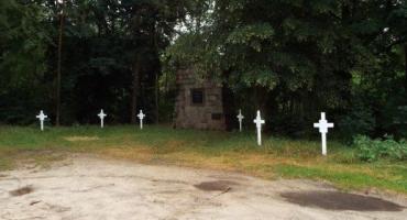Kamion nad Rawką - cmentarz żołnierzy niemieckich z I wojny światowej