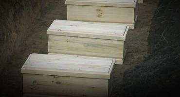 Pogrzeb ofiar obozu z Fortu III Pomiechówek (video)