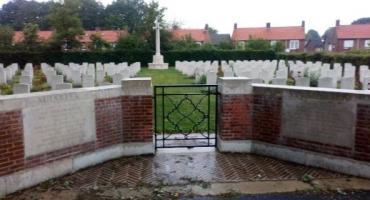 Brytyjski cmentarz wojenny Milsbeek.
