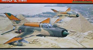 Nowy MiG-21MF w skali 1/48