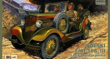 Polski Fiat 508/III w skali 1/72 !!!