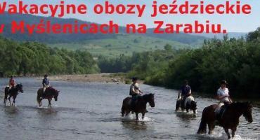 Wakacyjne obozy jeździeckie w Myślenicach
