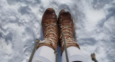 Zima jak z bajki w stylowych butach damskich