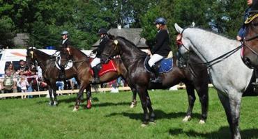 Zawody jeździeckie w Łopusznej