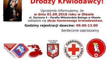 Wrześniowa akcja krwiodawstwa
