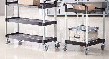 Wózek wózkowi nierówny. Nietypowe projekty wózków sklepowych