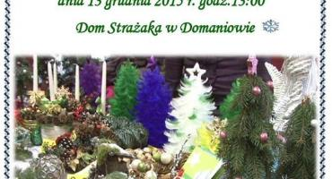 Kiermasz świąteczny w Domaniowie