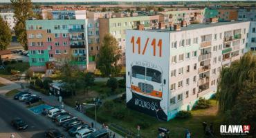 Mural oficjalnie odsłonięty