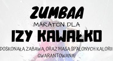 Maraton zumby dla Izy Kawałko