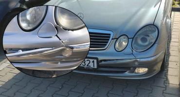 Szukają sprawcy uszkodzenia samochodu