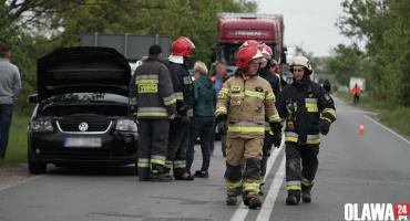 Zderzyły się trzy samochody