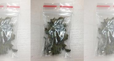 W plecaku miał słoik z marihuaną