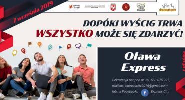 Po raz pierwszy - Oława Express!
