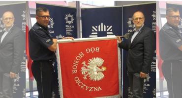 Oficjalnie wręczą oławskiej policji nowy sztandar