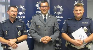 Wyróżnienie dla policjantów z oławskiej drogówki