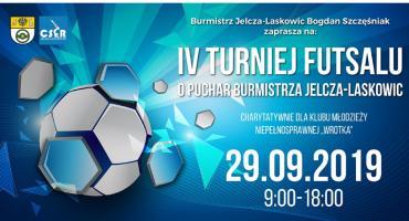 IV Turniej Futsalu o Puchar Burmistrza Jelcza-Laskowic