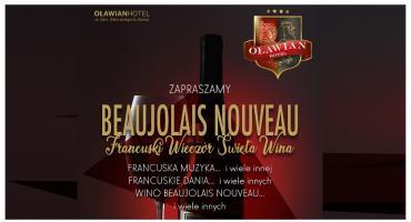 Oławian Hotel zaprasza na wieczór młodego wina Beaujolais 2019