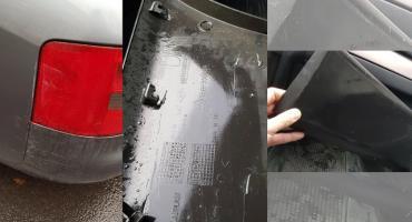 Czytelnik szuka sprawcy uszkodzenia samochodu