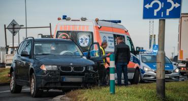 Wypadek przy ul. Kutrowskiego. Tworzą się korki