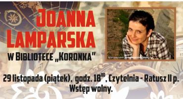Spotkanie z Joanną Lamparską w Koronce