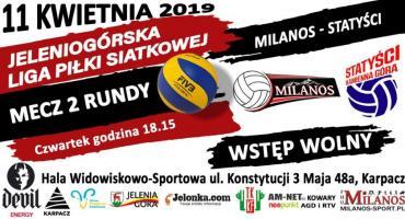 Mecz na szczycie w JLPSA Milanos - Statyści Kamienna Góra