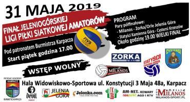 Finał Jeleniogórskiej Ligi Siatkówki Amatorów 2019