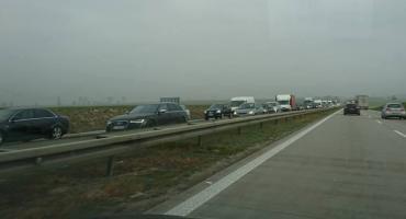 Uwaga! A4 w kierunku Jeleniej Góry zablokowana!