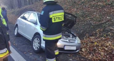 Auto wypadło z drogi w okolicach Mysłowa